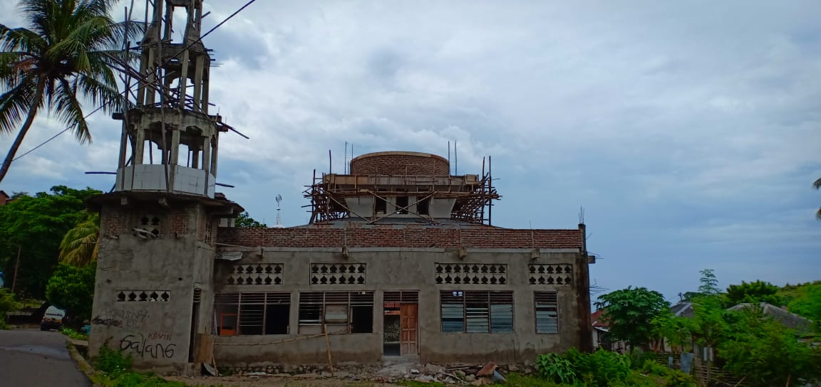(Progress Pembangunan Masjid)